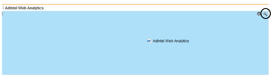 Configure AdIntel Web Analytics Gadget